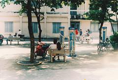In the shadow (BangCoi) Tags: bkhn hust bachkhoa dorm dormitory filmphotography film