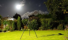 moon watching and star gazing (Jeanni) Tags: stars moon gazing garden night sky bright lunar darksky circle harvestmoon fullmoon cranefly daddylonglegs sony sonydscrx100m3 camera tripod shadow tamron150600mm canon 60d canonremotecontrollertc80n3 clouds