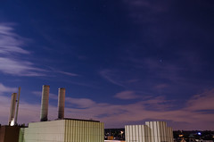 Midnight power plant (lordgurke) Tags: fullmoon midnight longexposure vollmond langzeitbelichtung mitternacht wuppertal germany night outdoor
