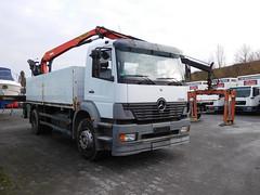 MB Atego (Vehicle Tim) Tags: mercedes mb lkw truck fahrzeug pritsche kran