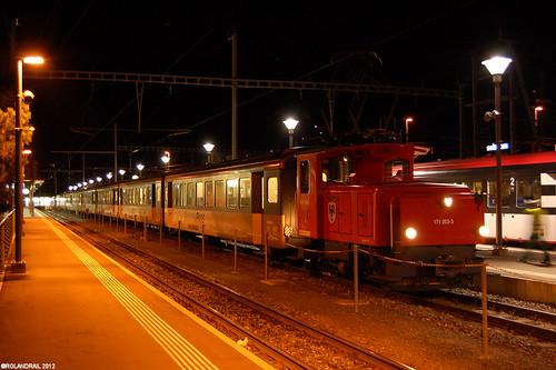 ZB Te 171 203 @ Meiringen