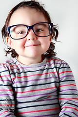 i'm a young geek (Marcello Collalto) Tags: portrait studio geek ritratto bambina canon430 canon580 canon5dmarkii
