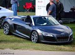 Audi R8 V10 Spyder (scott597) Tags: church downs kentucky hill spyder louisville audi concours v10 2012 r8