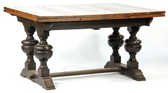 41. Jacobean Style Draw Leaf Dining Table