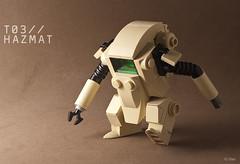 "T03 ""HAZMAT"" (_Tiler) Tags: lego mak hazmat moc hardsuit maschinenkrieger minifigscale"