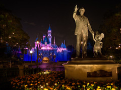 "Partners Statue and Sleeping Beauty Castle • <a style=""font-size:0.8em;"" href=""http://www.flickr.com/photos/85864407@N08/8095805999/"" target=""_blank"">View on Flickr</a>"