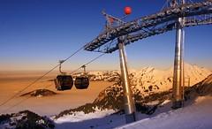 Abenddmmerung im Winter (Hotel Post Bezau) Tags: hotel wintersport skifahren winterurlaub bregenzerwald