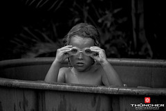 Tub Thumping (Thncher Photography) Tags: portrait bw hawaii blackwhite nikon faces maui fullframe fx d700 nikond700 niksilverefexpro20 nikkor28300mmlens