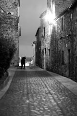 Pals, Old Village, Empord, Girona (anroir) Tags: autumn blackandwhite bw white black byn blancoynegro blanco blackwhite spain negro girona bn catalunya costabrava bnw gerona emporda baw