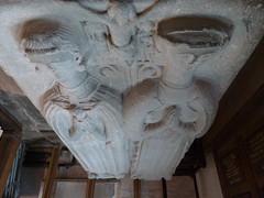 Aubrey tomb. Brecon (Granpic) Tags: sculpture monument wales carving brecon breconcathedral welshcathedral walterchristinaaubrey abercynig