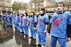 Contre les levages et la vivisection (dprezat) Tags: paris contest protest animaux anti palaisroyal manif vivisection expriences rassemblement elevage labos sonyalpha700 manifertation