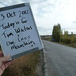 "Today is for Tim Waters and One Less Mountain <a style=""margin-left:10px; font-size:0.8em;"" href=""http://www.flickr.com/photos/59134591@N00/8115376954/"" target=""_blank"">@flickr</a>"