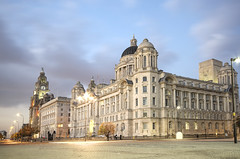Liverpool's Three Graces (Jeffpmcdonald) Tags: uk liverpool threegraces royalliverbuilding cunardbuilding mdhb nikond7000 jeffpmcdonald mygearandme mygearandmepremium mygearandmebronze mygearandmesilver mygearandmegold ringexcellence dblringexcellence tplringexcellence flickrstruereflection1 flickrstruereflection2 flickrstruereflection3 flickrstruereflection4 flickrstruereflectionlevel1 oct2012 flickrstruereflectionlevel4