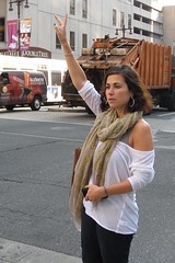 IMG_0110 (ViewFromTheStreet) Tags: street woman classic philadelphia girl mobile female scarf hoop photography calle big amazing pretty phone unitedstates loop pennsylvania candid cab earring streetphotography cell style earrings broad blick allrightsreserved broadstreet hailing viewfromthestreet stphotographia bighoopearring copyright2012 vftsviewfromthestreet blickcalle blickcallevfts ©blickcallevfts ©copyright2012blickcalle