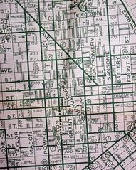 San Francisco CA 1940 (davecito) Tags: sanfrancisco california northerncalifornia map 1940s planning transportation cartography bayarea geography urbanplanning drafting streetmap citymap oldmap chadwickguide