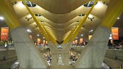 Barajas Airport (2) - Madrid, Spain (Anita Gilmore) Tags: madrid airport spain terminal4 barajas