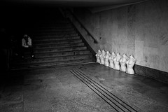 Warszawa 2012 (Marta Rybicka) Tags: street bw white black station night contrast candid poland polska snap warsaw warszawa rybicka martarybicka