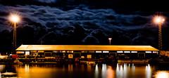 boathouse (timkuever) Tags: light house night clouds suomi finland dark boat helsinki nightshot scandinavia