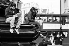 No fountain! (Ray Zandvoort!) Tags: street uk london photography unitedkingdom 85mm piccadilly piccadillycircus londoncity canonef85mm showlondon rayzandvoort division67 rayzr rayzrnl rayzreu
