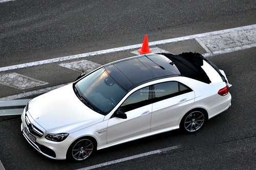2014 Mercedes-Benz E-Class AMG spy picture