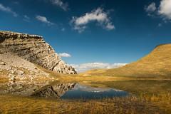 The Lake Of The Dragons (Christophe_A) Tags: mountain lake reflection nikon day dragon greece christophe d800 2470 epirus dragonlake tymfi christopheanagnostopoulos pwpartlycloudy χριστοφοροσαναγνωστοπουλοσ χριστόφοροσαναγνωστόπουλοσ