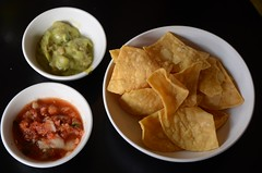Tortilla crisps, guacamole, smoky salsa - Fonda Mexican (avlxyz) Tags: food corn mexicanfood richmond mexican crisps vic guacamole salsa tortilla fonda corntortilla swanstreet tortillacrisps richmondvic fondamexican smokysalsa