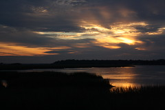 Moon River Sunset (peachy92) Tags: sunset sky cloud clouds river georgia skies dusk chatham rivers savannah moonriver savannahga chathamcounty savannahgeorgia johnnymercer chathamcountygeorgia chathamcountyga foursquare:venue=4c390b890a71c9b6f4df41c9