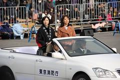 祝賀パレード(麻木久仁子&小比類巻かほる)