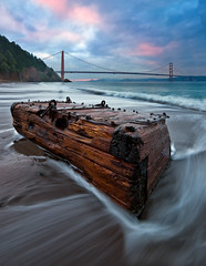 Pirates in Marin (mikeSF_) Tags: ocean california bridge seascape mike clouds landscape photography golden bay gate san francisco long exposure waves treasure angle pacific pentax pirates chest wide sigma camel mooring 1020 ultra k5 oria httpmikeoriazenfoliocom