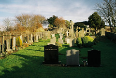 balmerino cemetery-00004 (E.........'s Diary) Tags: camera trip film coast with dundee olympus tay via another had az300