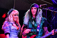 Mad T Party - Alice and March Hare (EverythingDisney) Tags: alice band disney dca aliceinwonderland californiaadventure marchhare madtparty