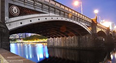 jan13 369 (raqib) Tags: city longexposure bridge summer urban architecture night river nikon waterfront australia melbourne southbank promenade yarra rc summernight yarrariver d90 princesbridge riveryarra melbournecity cityofmelbourne southbankpromenade nikond90 culturalprecinct