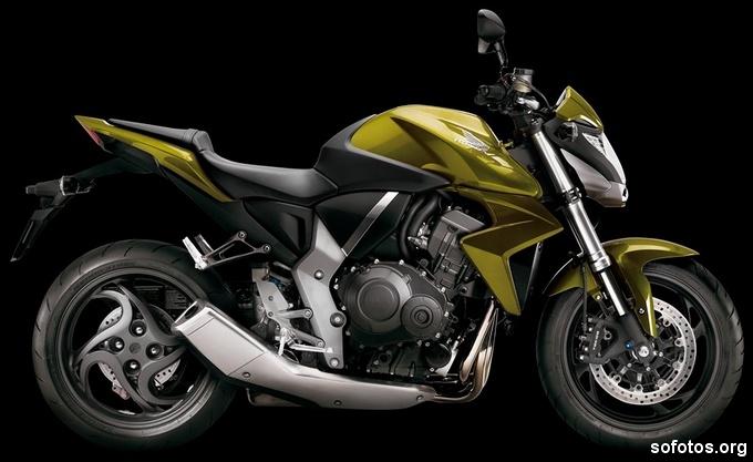 Honda CB1000R Verde