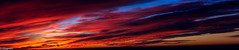 Fire in the sky! (VijayramM) Tags: california park sunset sky sun beach nature beautiful rain clouds canon painting landscape fire monterey rainbow hill bigsur highway1 carmel canon1755mm canon60d