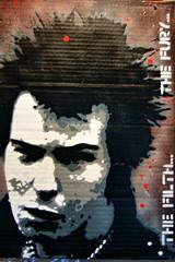 Jef Aerosol : Sid Vicious (dprezat) Tags: street urban art painting stencil tag graf sid créteil peinture exposition vip aerosol filth sexpistols fury vicious bombe pochoir sidvicious jefaerosol sonyalpha700