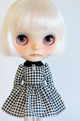 Classic Houndstooth Dress