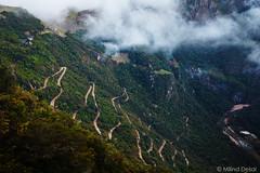 The road to Machu Picchu (Milind.Desai) Tags: road peru machu picchu inca machupicchu incatrail intipunku