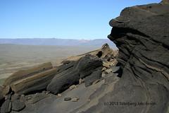 Við rætur Hengils (Svanberg Jakobsson) Tags: sculpture mountain iceland volcanic hengill tuff windshaped listaverk móberg windshape windshaping mthengill vindsorfiðmóberg vindsorfið