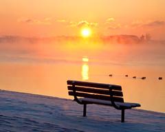 Snowpocalypse_Bench (DASEye) Tags: snow sunrise bench nikon virginiabeach dayseye davidadamson