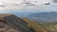 View above Keno Mountains (dieLeuchtturms) Tags: america amerika canada familie kanada kenohill nordamerika northamerica silvertrail yukon ogilvie mountains