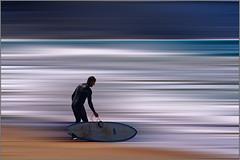 . (aumbody images) Tags: sky abstract water sand surfer australia surfing greatoceanroad wetsuit thepixies ripcurl lorne tamron70300 canon30d surferrosa aumbodyimages thepinnaclehof kanchenjungachallengewinner tony'stheme tphofweek189