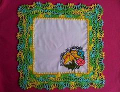 Lime/Lemon edging :D (LauraLRF) Tags: flowers thread lemon lima napkin border crochet cotton hilo lime lacy limon bordado servilleta algodon edging borde ganchillo puntilla