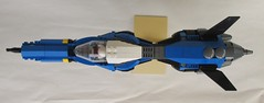 Strike Javelin EX-9 ([Victor]) Tags: lego space starfighter moc minifigscale