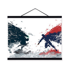 Freeshipping Original Watercolor Batman vs Superman Pop Movie A4 Art Print Poster Wall Picture Canvas Painting No Frame Kids Room Home Decor by TheMildArt (Mild Art) Tags: art poster print painting canvas frame design original mild home decoration wall etsy shop for themildart