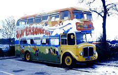 Slide 067-23 (Steve Guess) Tags: crawley west sussex coach rally england gb uk jjk261 eastbourne aec regent v playbus npsv supersonic