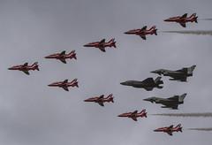 036 (Hawkeye2011) Tags: aircraft aviation airshow military riat uk 2016 raffairford raf royalairforce bae hawk eurofighter typhoon lockheed martin f35b lightningii redarrows