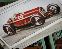 Alfa Romeo P3 8C (benjaminjohnson1983) Tags: 2016 alfaromeop38c351935 cards cigarettecards flickr formula1 grandprix johnplayersons macromondays playerscigarettes scuderiaferrari