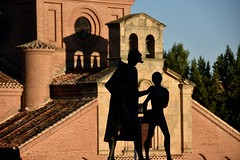 Lazarillo de Tormes (jacques_teller) Tags: salamanca spain lazarillo tormes contrast light shadow dof nikon nikonian d7200 novel sculpture art worldheritage heritage urban