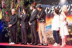 Independence Day: Resurgence Japan Premiere: Roland Emmerich, Fujiwara Tatsuya, Liam Hemsworth, Jeff Goldblum & Maika Monroe (Dick Thomas Johnson) Tags: japan tokyo minato roppongi      roppongihills  roppongihillsarena  movie film premiere moviepremiere event   japanpremiere independencedayresurgence  rolandemmerich  liamhemsworth  jeffgoldblum  maikamonroe   fujiwaratatsuya  todanatsuko