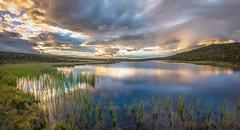 Camp site II (photomatic.se) Tags: ifttt 500px grövelsjön dalarna sweden outdoors nature landscape clouds mirror water summer tent töfsingdalen photograph